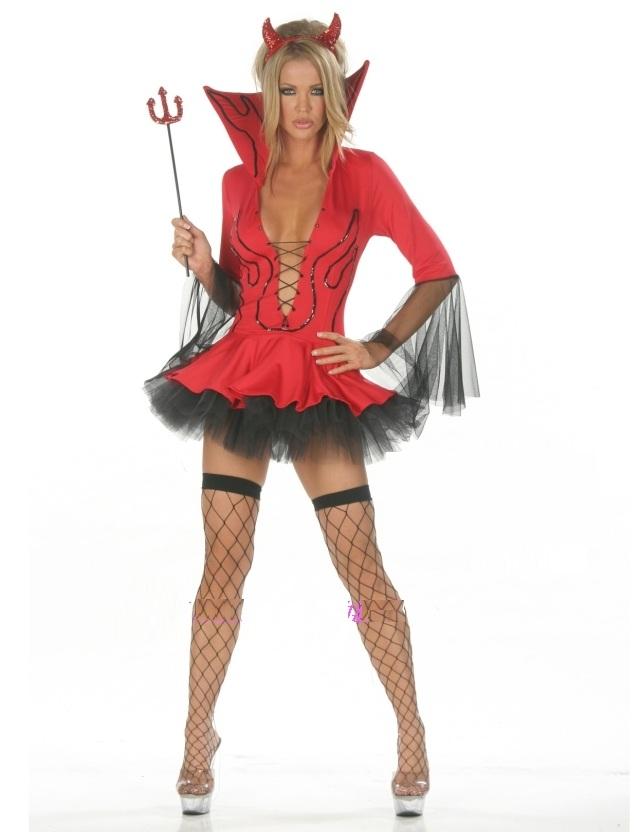 Выбираем костюм черта или чертихи (чертовки) на Хэллоуин