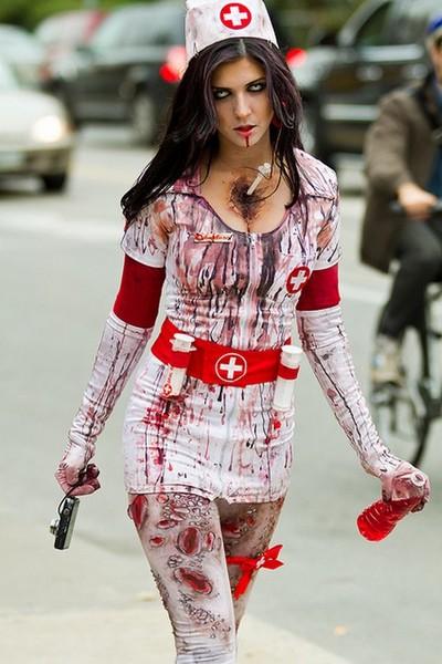 Выбираем костюм медсестры на Хэллоуин