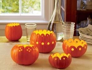 Отличная идея для украшения тыквы на осенний праздник