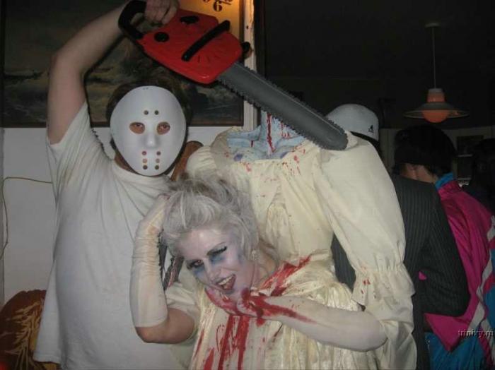 Костюмы своими руками для хэллоуина