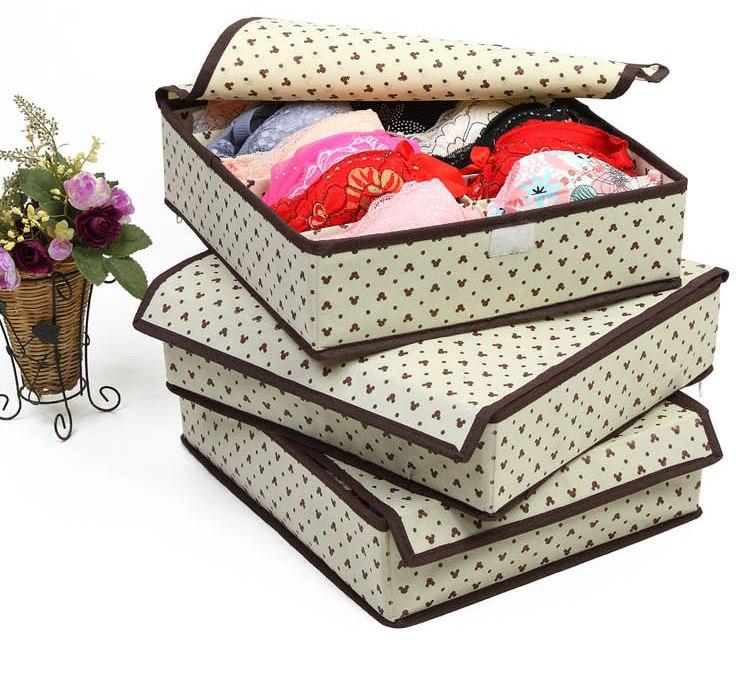 Коробка для хранения нижнего белья купить в нашем магазине