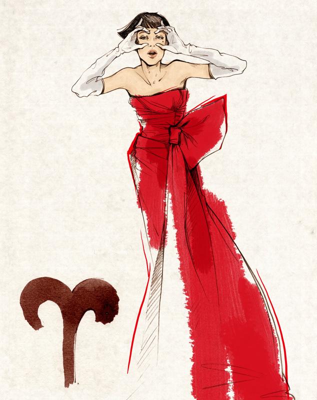Овны - стиль, мода, цвет и выбор одежды.